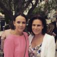 La princesse Stéphanie de Monaco avec sa fille Pauline Ducruet, photo Instagram de Pauline pour la fête des Mères en mai 2017