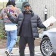 Kanye West à Calabasas. Le 17 janvier 2018.