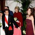 Nicolas Sarkozy et Carla Bruni au Royaume-Uni, mars 2008.
