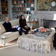 Le prince William et Catherine Kate Middleton déjeunent avec le prince Haakon et la princesse Mette-Marit dans leur résidence de Skaugum à Asker le 2 février 2018