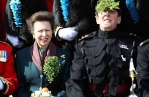 Quand la mère de Zara, la Princesse Anne, fête la Saint-Patrick... à sa façon !