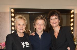 Alex Lutz entouré de Muriel Robin, sa chérie et un parterre de VIP à l'Olympia