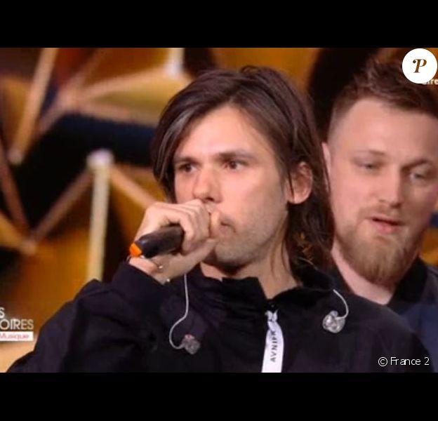 Orelsan - Victoires de la musique, le 9 février 2018 à la Seine Musicale.
