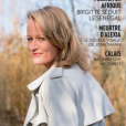 Julie Bocquet, la fille de Claude François, en couverture de Paris Match en kiosques jeudi 8 février 2018.