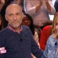 """Patrice Janiaud et Clémentine Célarié dans """"Les Enfants de la télé"""", le 11 février 2018 sur France 2."""