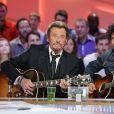 Exclusif - Johnny Hallyday et Yarol Poupaud invités du Grand Journal de Canal + le 07/06/2013