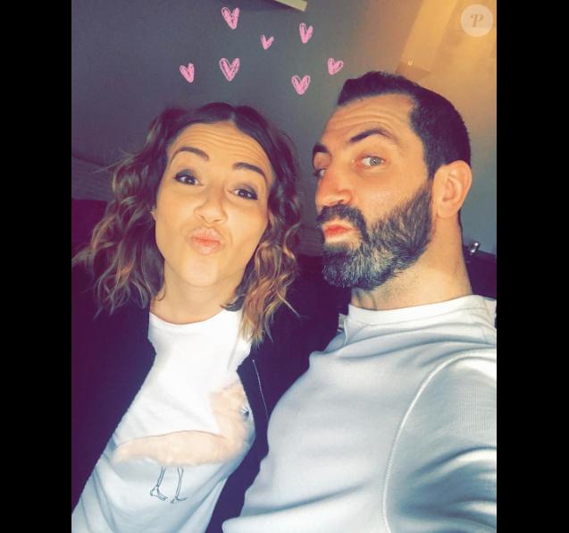 Tiffany et Justin (Mariés au premier regard) amoureux, début Février 2017.