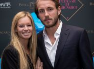 Lucas Pouille : Tendre baiser avec sa belle Clémence et jolie déclaration