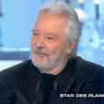 """Pierre Arditi, invité de Thierry Ardisson dans """"Salut les Terriens"""", le 17 février 2018."""