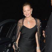 Kate Moss : Canon à Londres face à Elle Fanning et Naomi Campbell