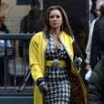 Vanessa Williams sur le tournage  Ugly Betty.  19/03/09