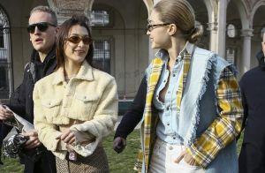 Gigi et Bella Hadid : Complices à Milan, elles retrouvent Kaia Gerber