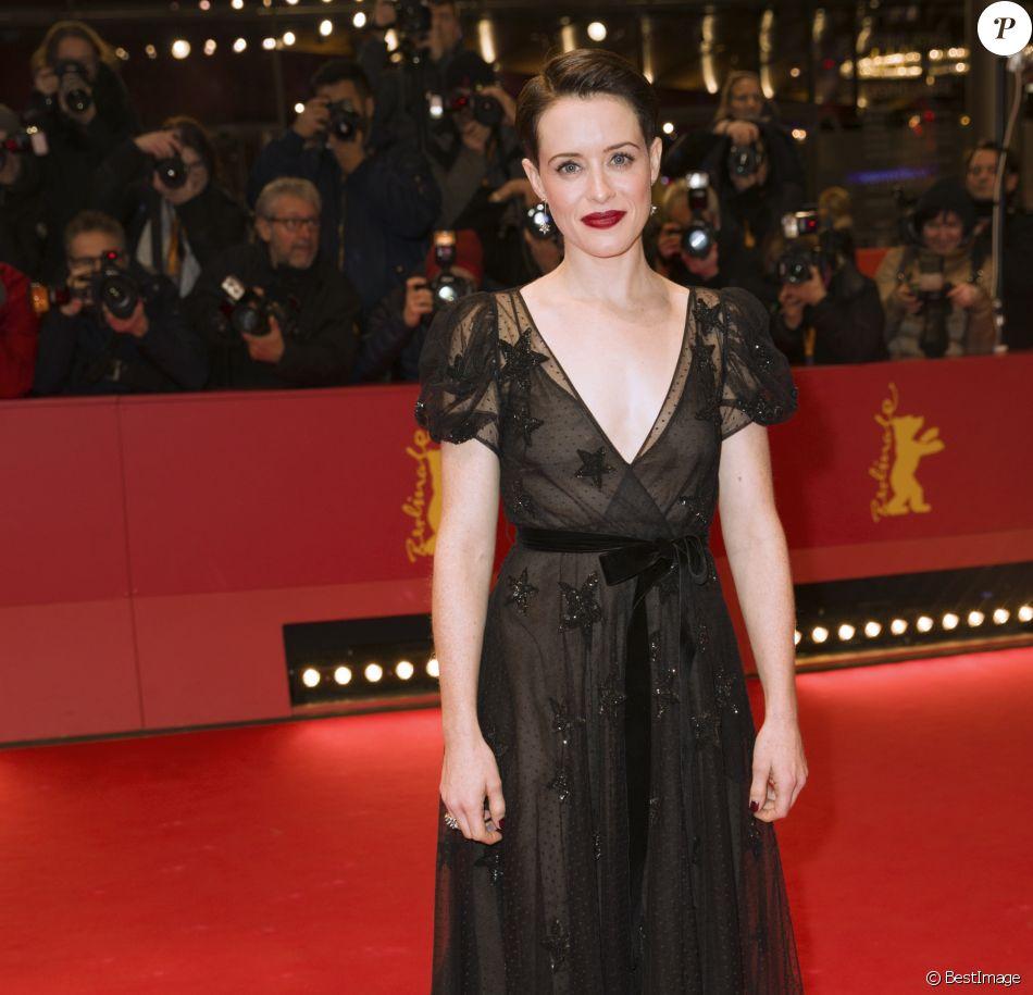 """Claire Foy à la première de Unsane"""" lors de la 68ème édition du festival international du film de Berlin (La Berlinale 2018), le 21 février 2018."""