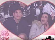 Ashton Kutcher et Mila Kunis irrésistibles : Un baiser langoureux en public