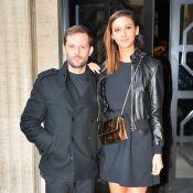 Fashion Week : Nicolas Duvauchelle et Anouchka, couple radieux aux défilés
