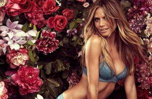 Heidi Klum ultrasexy : Trop vieille pour poser en lingerie ?