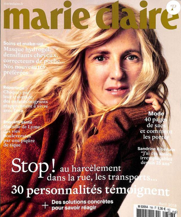 Le magazine Marie Claire du mois d'avril 2018