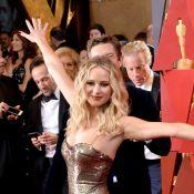 Jennifer Lawrence : Verre de vin et déchaînée, aux Oscars comme dans son salon