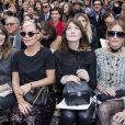 """Alma Jodorowsky, Lily Allen, Carla Bruni Sarkozy, Yasmin Le Bon - Défilé de mode automne-hiver 2018/2019 """"Chanel"""" au Grand Palais à Paris le 6 mars 2018. © Olivier Borde/Bestimage"""