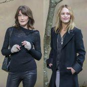 Fashion Week : Carla Bruni et Vanessa Paradis concluent la semaine en beauté
