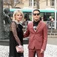 Rami Malek et Lucy Boynton - Arrivées au défilé de mode Miu Miu automne-hiver 2018/2019 au Palais d'Iéna. Paris le 6 juin 2018 © CVS / Veeren / Bestimage