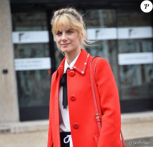 Mélanie Laurent - Arrivées au défilé de mode Miu Miu automne-hiver 2018/2019 au Palais d'Iéna. Paris le 6 juin 2018 © CVS / Veeren / Bestimage