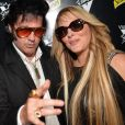 Loana Petrucciani et son ami Eryl Prayer (sosie de Elvis Presley) - Dj Set à la Villa Schweppes lors du 70ème Festival International du Film de Cannes Le 22 mai 2017. © Veeren/Bestimage