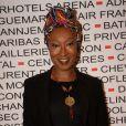 Nadège Beausson-Diagne - Photocall du déjeuner du Chinese Business Club pour la journée internationale des droits des femmes au Pavillon Cambon à Paris, le 8 mars 2018. © Rachid Bellak/Bestimage