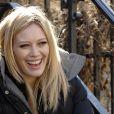 Hilary Duff sur le tournage de New York Unité Spéciale