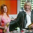 Axelle Red et Renaud - Soirée des NRJ Music Awards à Cannes le 20 janvier 2003.