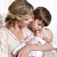 Sylvie Tellier avec sa fille Margaux et son fils Oscar. Cliché qui date d'il y a plusieurs années et posté sur son compte Instagram en mars 2018.