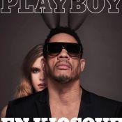 JoeyStarr pose nu pour Playboy et écrit une page de l'histoire du magazine