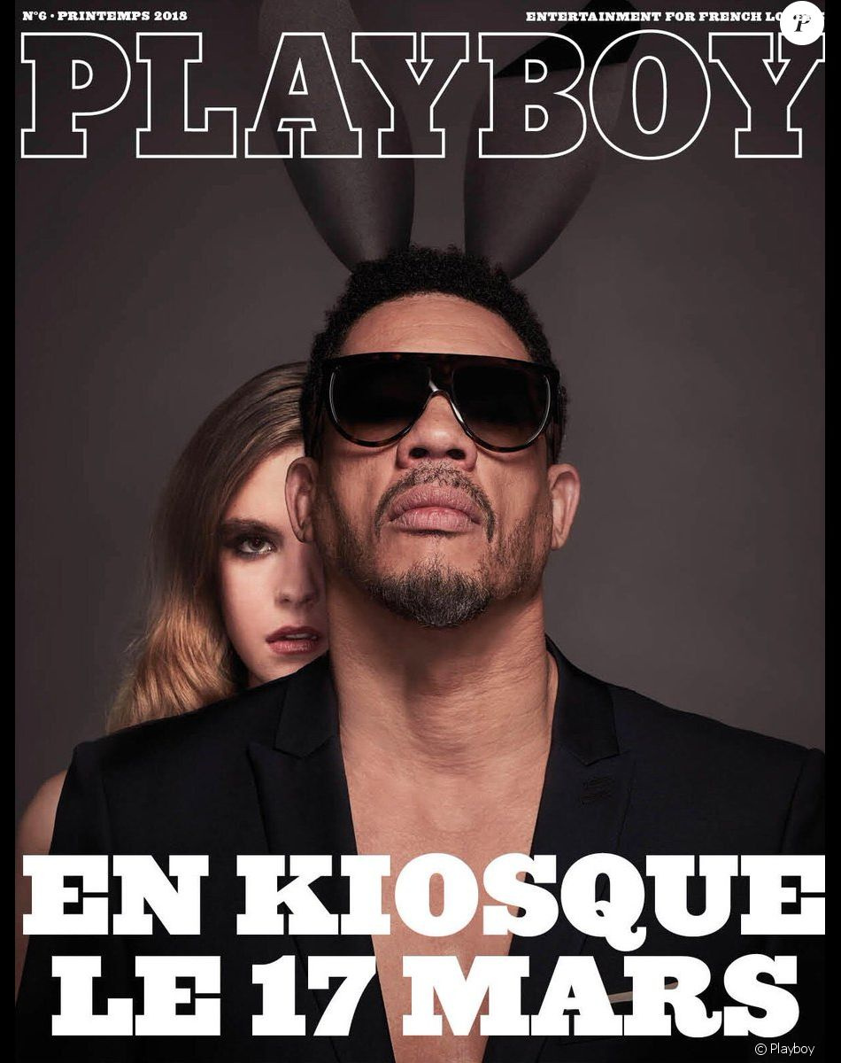 JoeyStarr à la Une de Playboy le 17 mars prochain — France