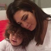 """Émilie Nef Naf """"heureuse mais grosse"""" : Sa photo à peine sortie de la maternité"""