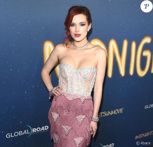 "Bella Thorne à la première de ""Midnight Sun"" au ArcLight Hollywood Theatre à Los Angeles, le 15 mars 2018. © AdMedia via Zuma Press/Bestimage"