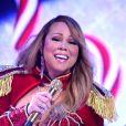 Mariah Carey en concert au Beacon Theater à New York, le 8 décembre 2016.