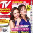 Magazine TV Grandes Chapines en kiosques le 19 mars 2018.