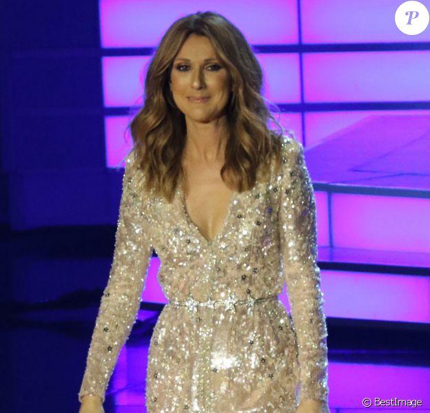 Celine Dion Ceasars Palace Hotel & Casino à Las Vegas le 27 août 2015