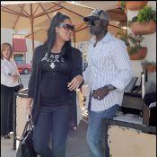 Djimon Hounsou et sa compagne Kimora Lee enceinte... le bonheur total sous le soleil !