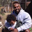 Kanye et Saint West au zoo de San Diego. Mars 2018.
