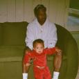 Saint West et son père Kanye West sur une photo publiée le 10 janvier 2017