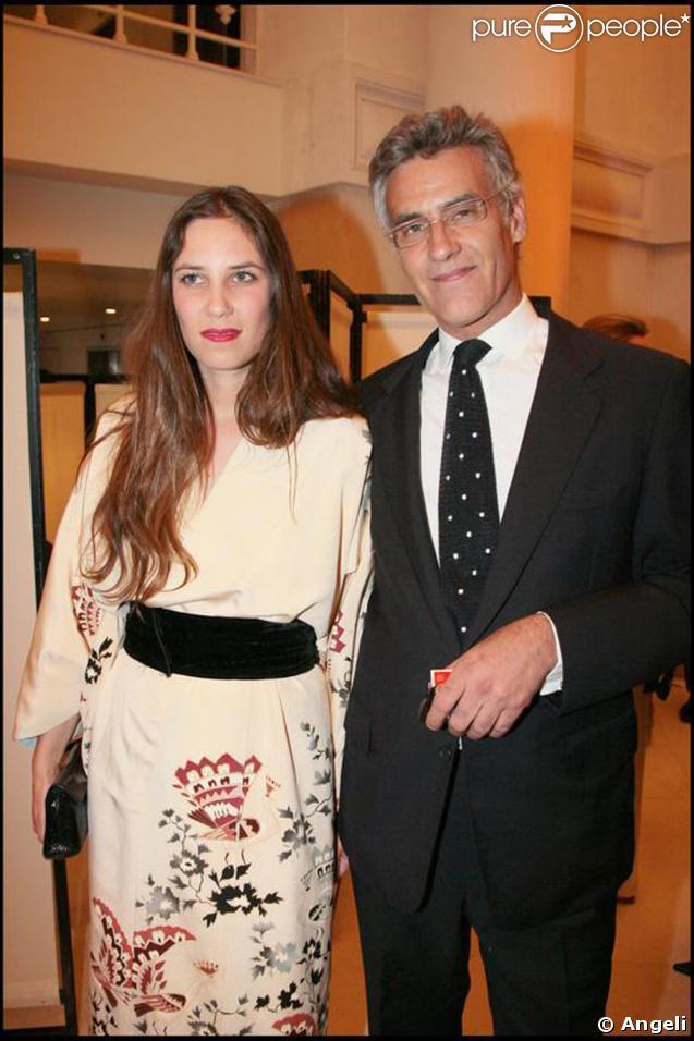Julio Mario Santo Domingo et sa fille Tatiana Santo Domingo en juin 2008