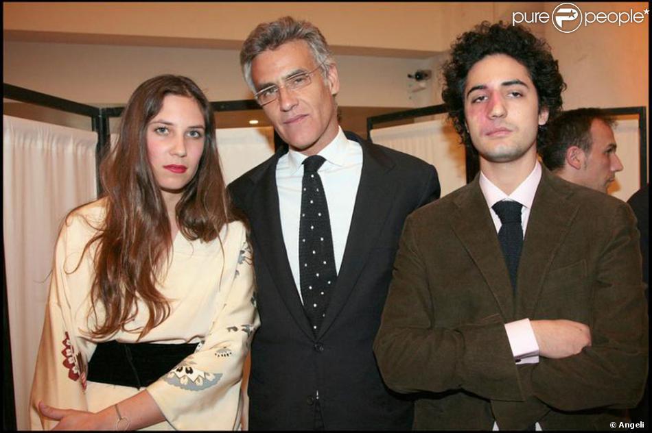 Julio Mario Santo Domingo avec sa fille Tatiana et son