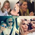 Santiago Cañizares et sa femme Mayte ont eu à affronter le 23 mars 2018 la mort, à 5 ans seulement, de leur fils Santi (qu'on entrevoit ici pendant son traitement), l'un de leurs triplés avec leurs filles Martina et India. Photo Instagram mai 2017.