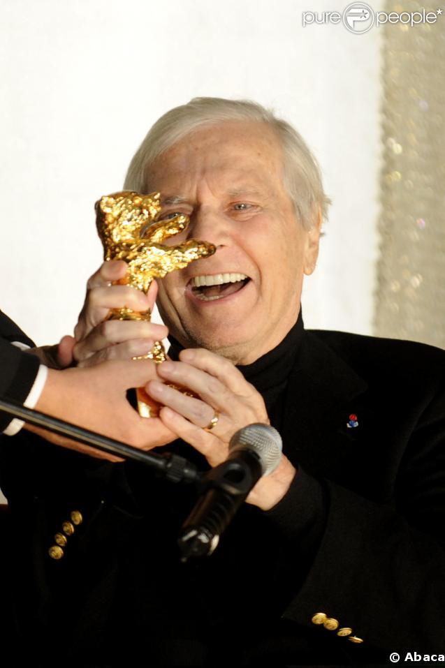 Maurice Jarre sa dernière apparition au Festival du film de Berlin en février 2009 ou il a reçu un Ours d'Or pour sa fabuleuse carrière.