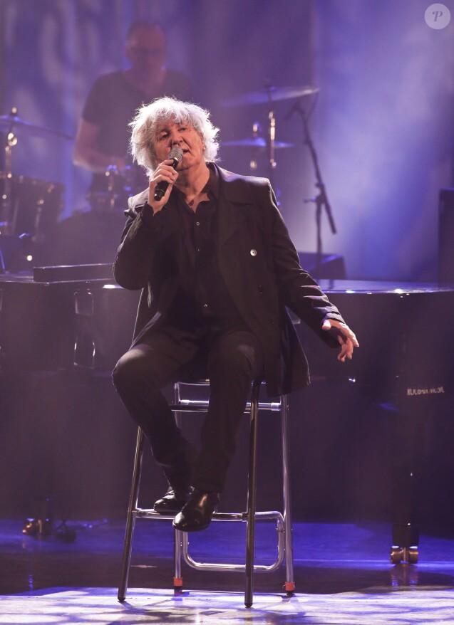 Jacques Higelin en concert au Théâtre Sébastopol à Lille le 13 juin 2013.