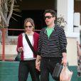 Robert Downey avec sa femme dans les rues de Los Angeles