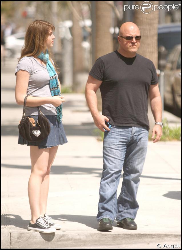 Michael Chiklis et sa fille Autumn, en pleine séance shopping à Beverly Hills