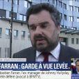 Me Thomas Klotz, l'avocat de Sébastien Farran, sur BFMTV le 11 avril 2018.