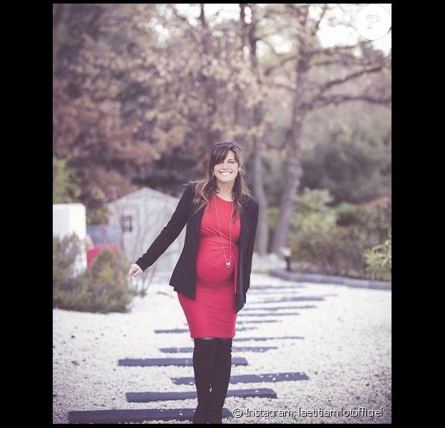 Laetitia Milot enceinte et rayonnante sur Instagram, 3 avril 2018, Instagram